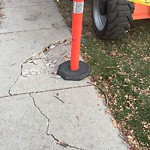Sidewalk, Walkway - Repair at 1524 15 Av SW