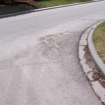 On-Street Cycling Lane - Cleaning at 32 Varbay Pl NW Northwest Calgary