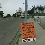 Sign on Street/Lane/Sidewalk-Repair/Replace at 1001 8 ST SE