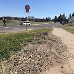 On-Street Cycling Lane - Cleaning at 5003 NORTH HAVEN DR NW