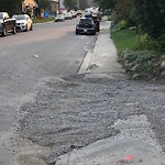 On-Street Cycling Lane - Cleaning at 2240 28 St SW