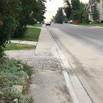 On-Street Cycling Lane - Cleaning at 2404 28 St SW