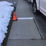Sidewalk - Walkway Repair at 196 CITADEL GR NW