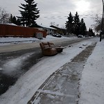 Debris on Street/Sidewalk/Boulevard at 5343 5 AV SE