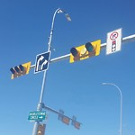Traffic or Pedestrian Light Repair at 7749 FALCONRIDGE BV NE