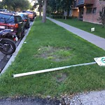 Sign on Street/Lane/Sidewalk- Request for new at 934 15 AV SW
