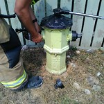 Fire Hydrant General Concerns at 7307 36 AV NW