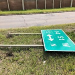 Sign on Street/Lane/Sidewalk-Repair/Replace at 51 SLOCAN RD SW
