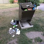Garbage in a park at 2487 ERLTON ST SW