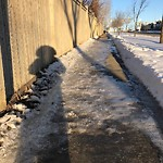 Snow on Pathway or City-maintained Sidewalk at 57 DOUGLASDALE PT SE