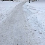Snow on Pathway or City-maintained Sidewalk at 2301 ERLTON PL SW