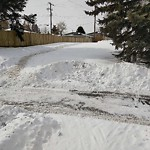 Snow on Pathway or City-maintained Sidewalk at 897 36 ST SE