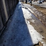 Snow on Pathway or City-maintained Sidewalk at 26 FALMEAD BA NE