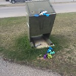 Garbage in a park at 975 CRANSTON DR SE