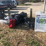 Garbage in a Park at 1599 Child Av NE