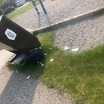 Garbage in a Park at 999 Somerset Dr SW