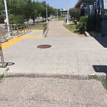 Shared Pedestrian and Cycling Path - Repair at 18 Shawbrooke Pl SW