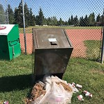 Garbage in a Park at 331 Brookpark Dr SW