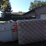Debris - Backlane at 208 153 Ave Se, Calgary, Ab T2 X 1 A4, Canada