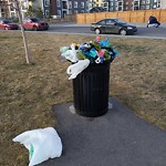 Garbage in a Park at 135 Copperstone Dr SE