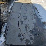 Sidewalk, Walkway - Repair at 9220 Saddlebrook Dr NE