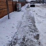 Snow on Pathway or City-maintained Sidewalk at 125 Sage Bluff Ri NW