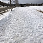 Snow on Pathway or City-maintained Sidewalk at 70 Tuscany Meadows Dr NW