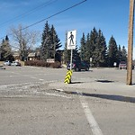 Sign on Street, Lane, Sidewalk - Repair or Replace at 9908 24 St SW