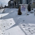 Snow on Pathway or City-maintained Sidewalk at 56 Auburn Bay Dr SE