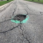 Pothole Repair at 14035 Parkland Bv SE
