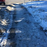 Snow on Pathway or City-maintained Sidewalk at 11803 Elbow Dr SW