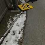 Sign on Street, Lane, Sidewalk - Repair or Replace at 52 Country Hills Ba NW