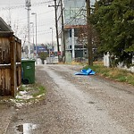 Debris - Backlane at 3312 14 Av SW